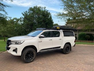 Toyota Hilux roof rack platform
