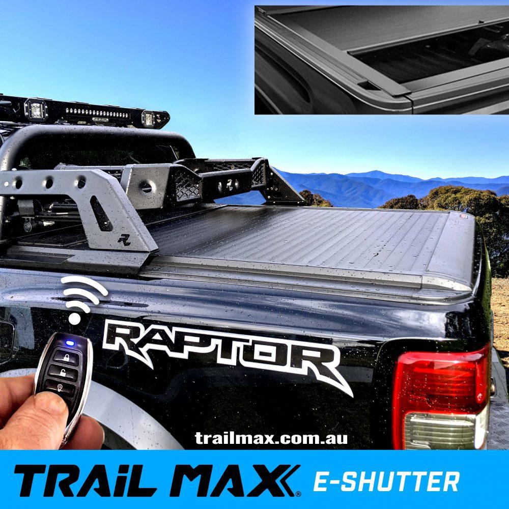 TrailMax Electric Roller Shutter Ranger Raptor