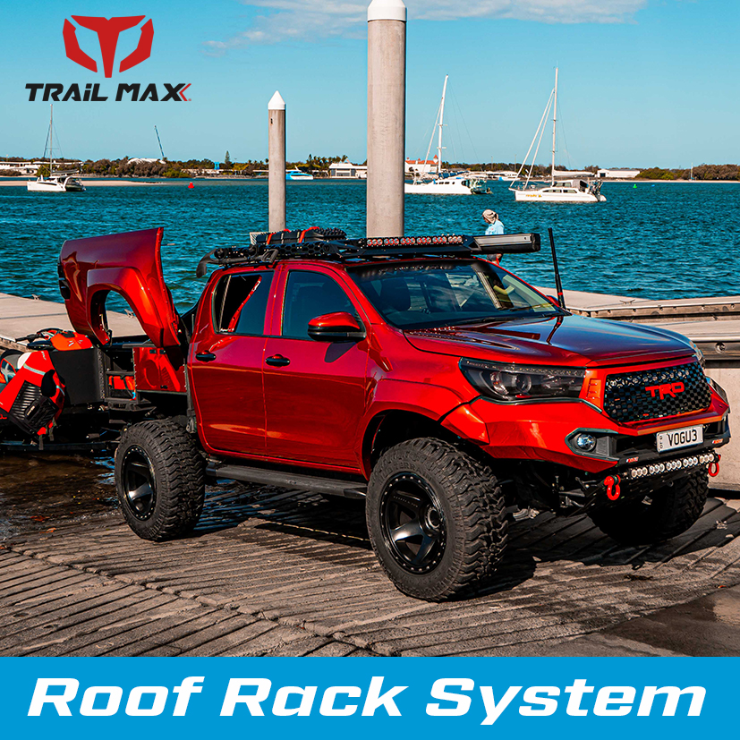 TrailMAx Roof Rack System side