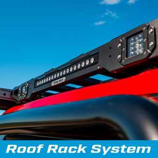 TrailMAx Roof Rack System rear LED Lights