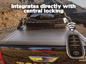 Trailmax electric roller shutter central locking