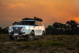 Nissan Patrol Y62 TrailMax Rack