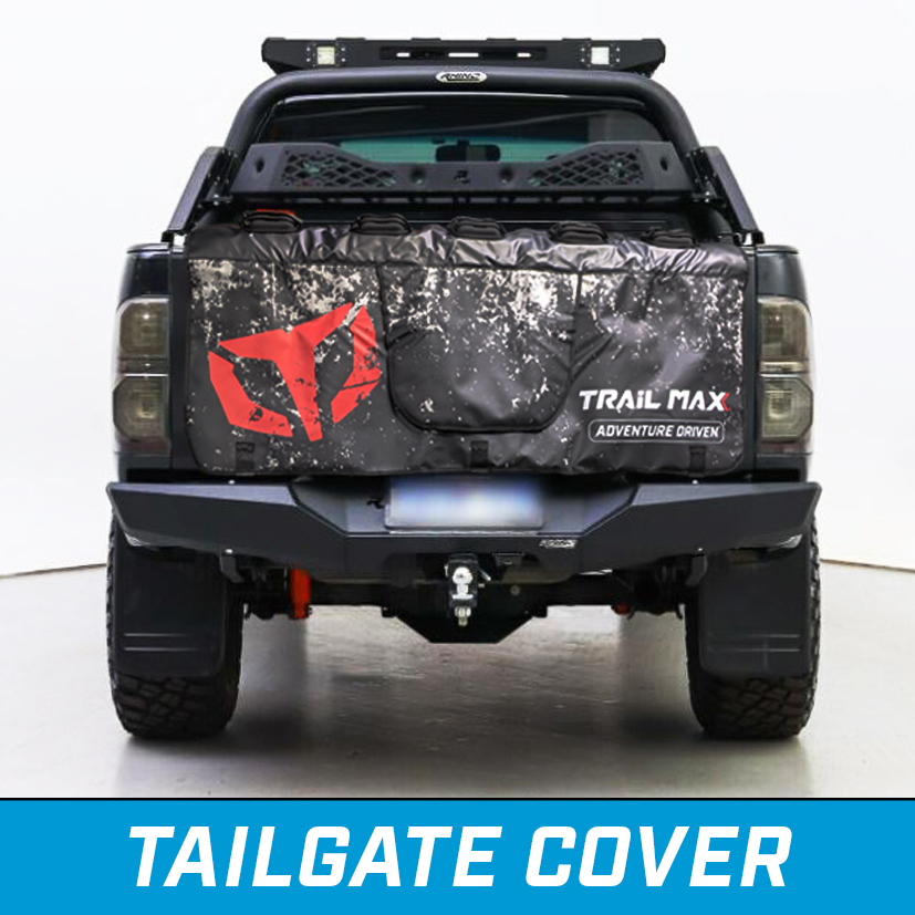 mountain bike tailgate cover and mounting system