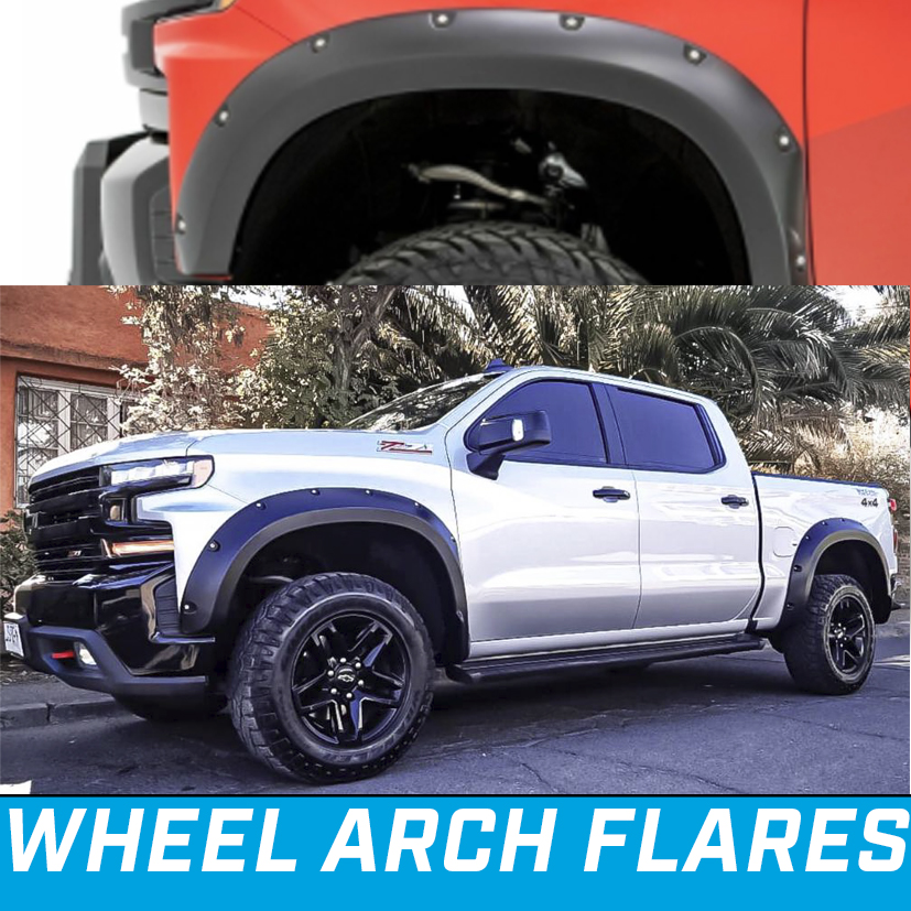 Silverado 1500 wheel arch flare pocket style