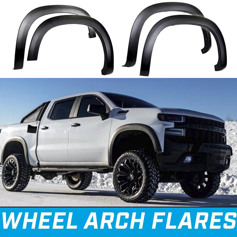 Silverado 1500 wheel arch flare OEM style